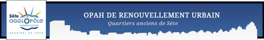 Renouvellement Urbain – Ville de Sète